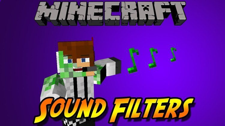 Sound Filters Mod for Minecraft Logo