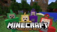 Teletubbie Mod for Minecraft Logo