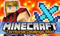 Territorial Dealings Mod for Minecraft Logo