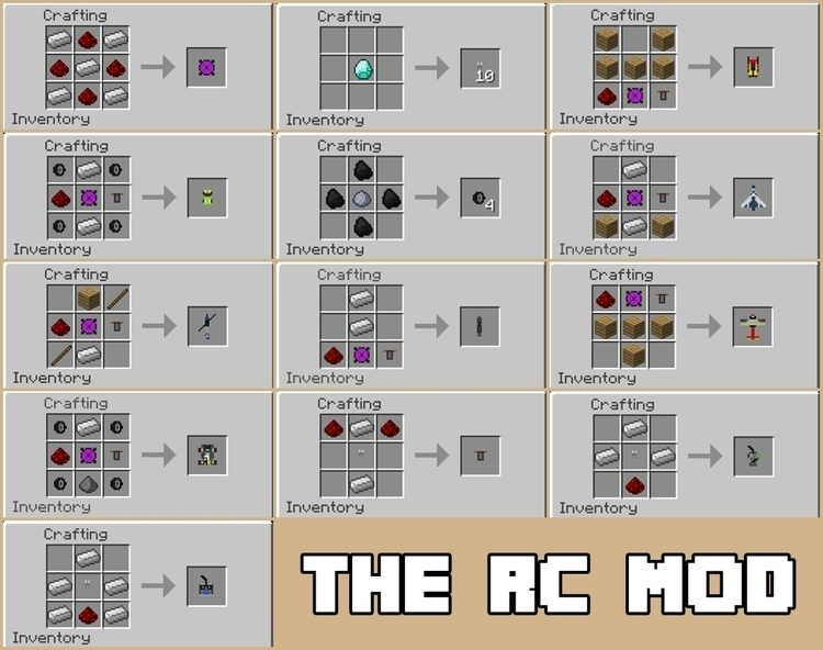 The RC Mod for Minecraft 3