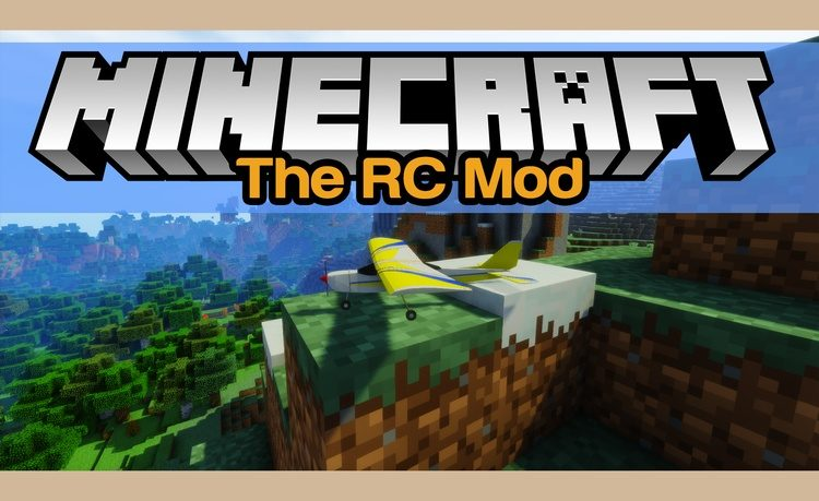 The RC Mod for Minecraft Logo
