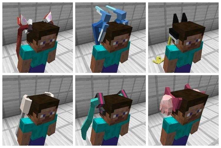 TwinTails Mod for Minecraft 2