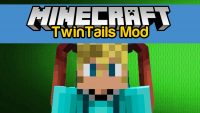 TwinTails Mod for Minecraft Logo