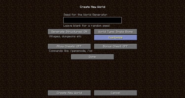 biome world types mod for minecraft 01