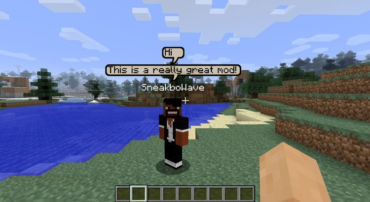 chat bubbles mod for minecraft 01