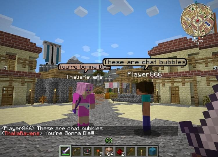 chat bubbles mod for minecraft 02