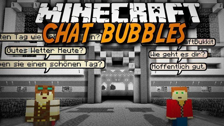chat bubbles mod for minecraft logo