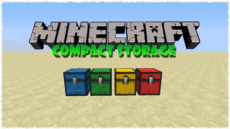 compact storage mod for minecraft logo