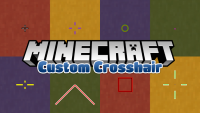 custom crosshair mod for minecraft logo