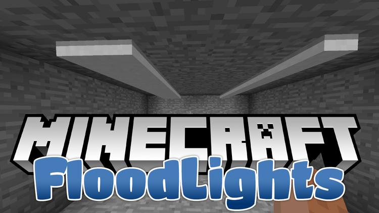 floodlights mod for minecraft logo