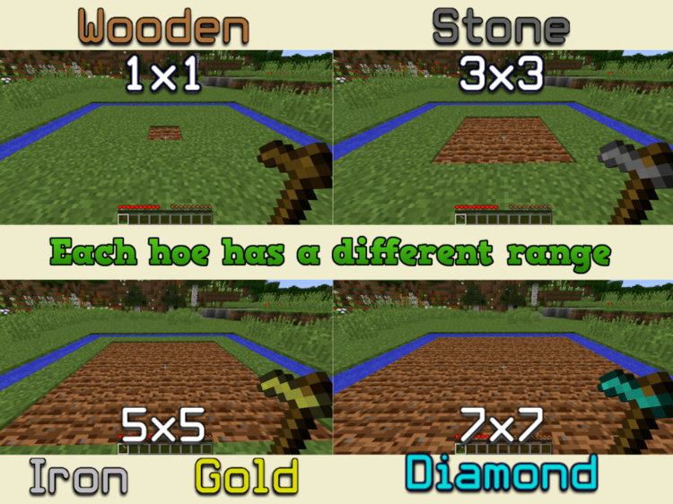 improved hoes mod for minecraft 01