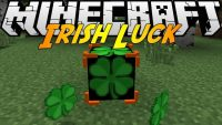 irish luck mod for minecraft logo
