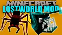 lostworld mod for minecraft logo