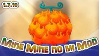 mine mine no mi mod for minecraft logo