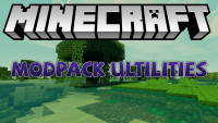 modpack utilities mod for minecraft logo