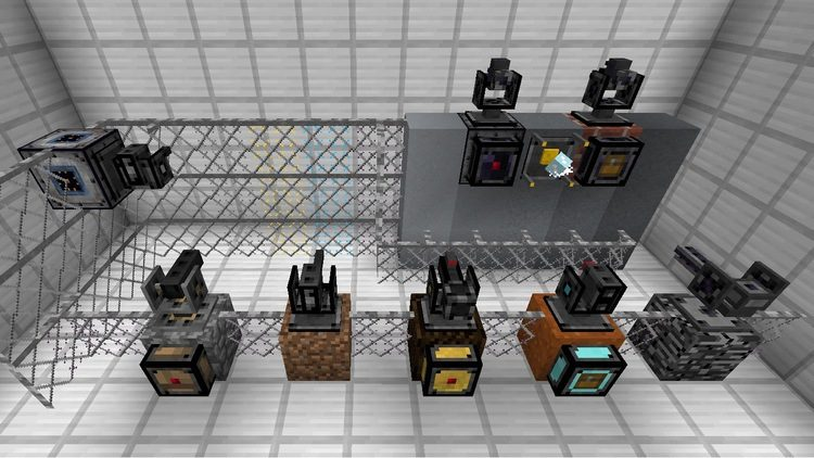 open modular turrets mod for minecraft 02
