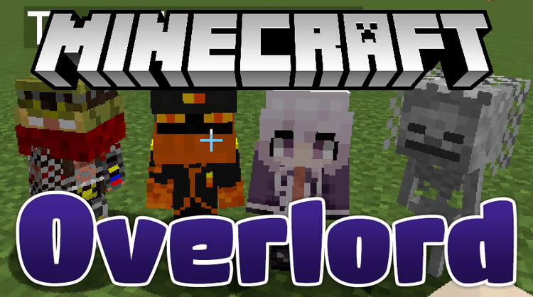 overlord mod for minecraft logo