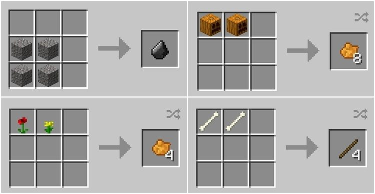 pams simple recipes mod for minecraft 02