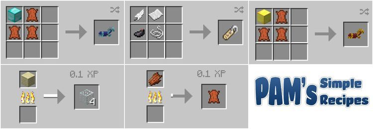 pams simple recipes mod for minecraft 04