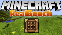 realbench mod for minecraft logo