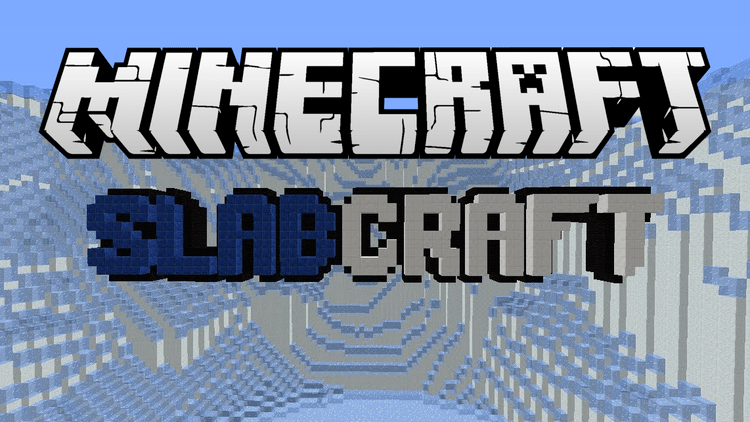 slabcraft mod for minecraft logo