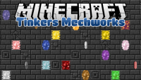 tinkers mechworks mod for minecraft logo