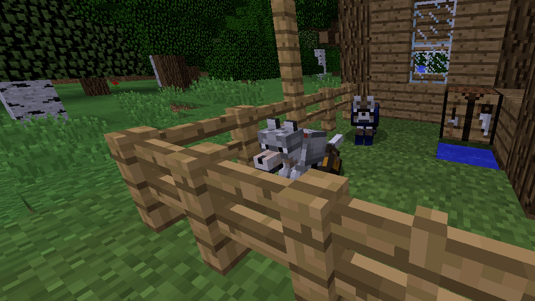 wolf armor and storage mod for minecraft 01
