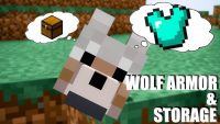 wolf armor and storage mod for minecraft logo