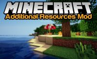 Additional Resources Mod for Minecraft Logo
