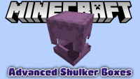 Advanced Shulker Boxes mod for minecraft logo