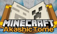 Akashic Tome for Minecraft Logo