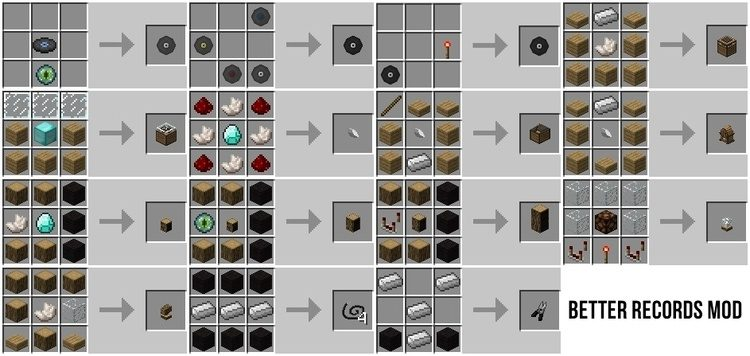 Better Records Mod for Minecraft 3