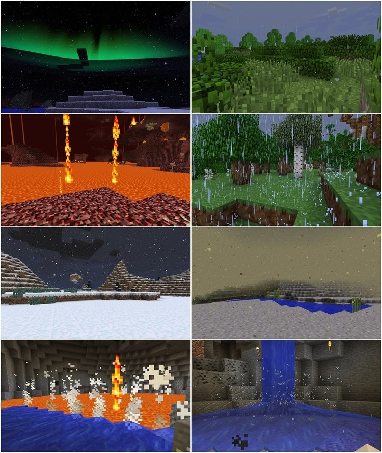 Dynamic Surroundings Mod for Minecraft 1