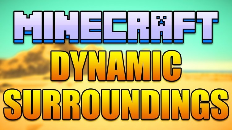 Dynamic Surroundings Mod for Minecraft Logo