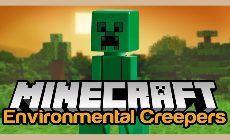 Environmental Creepers Mod for Minecraft Logo