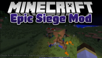 Epic Siege Mod for minecraft logo