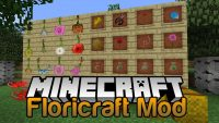 Floricraft Mod for Minecraft Logo