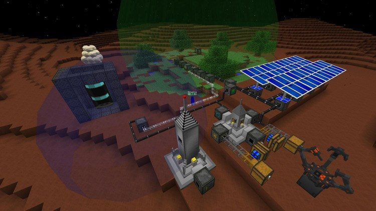 Galacticraft mod for minecraft 04