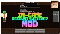 In-Game Account Switcher Mod for Minecraft Logo