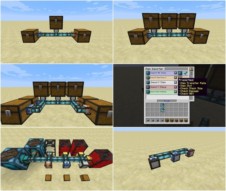 Integrated Tunnels Mod for Minecraft 2