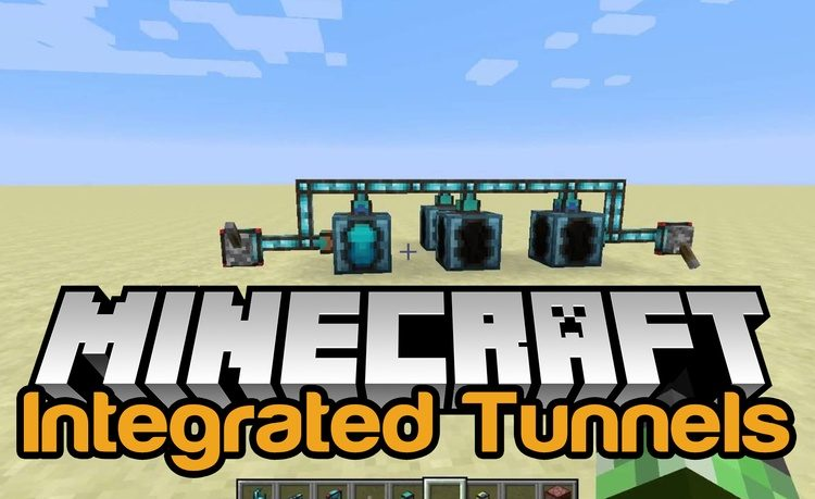 Integrated Tunnels Mod for Minecraft Logo