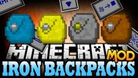Iron Backpacks Mod for Minecraft Logo