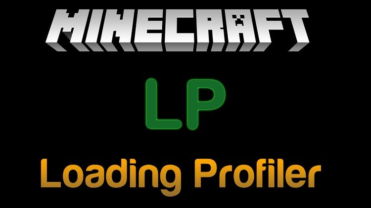 Loading Profiler Mod for Minecraft Logo