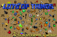 Lots of Things Mod for Minecraft Logo