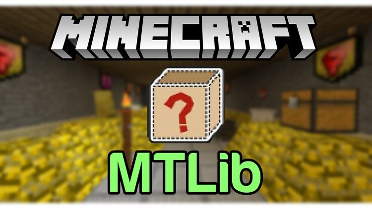 MTLib Mod for Minecraft Logo