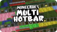 Multi Hotbar Mod for Minecraft Logo