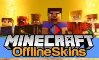 OfflineSkins Mod for Minecraft Logo