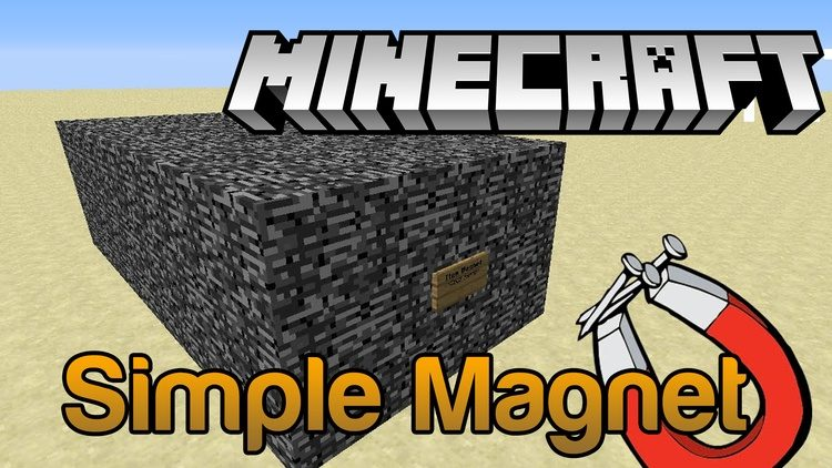 Simple Magnet Mod for Minecraft Logo