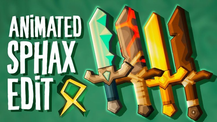 Sphax Animated PvP Resource Pack Logo