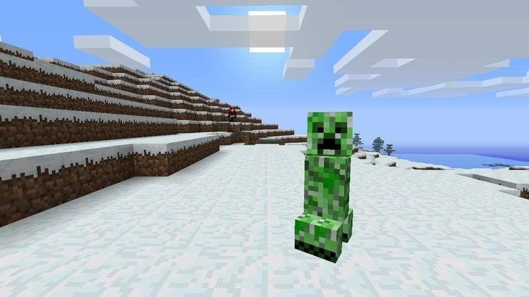 Stalker Creepers mod for minecraft 01